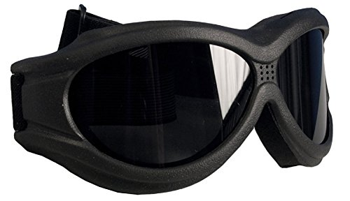 Big Ben Motorcycle Goggles Smoke Lens Fit Over Glasses ANTI FOG W POUCH