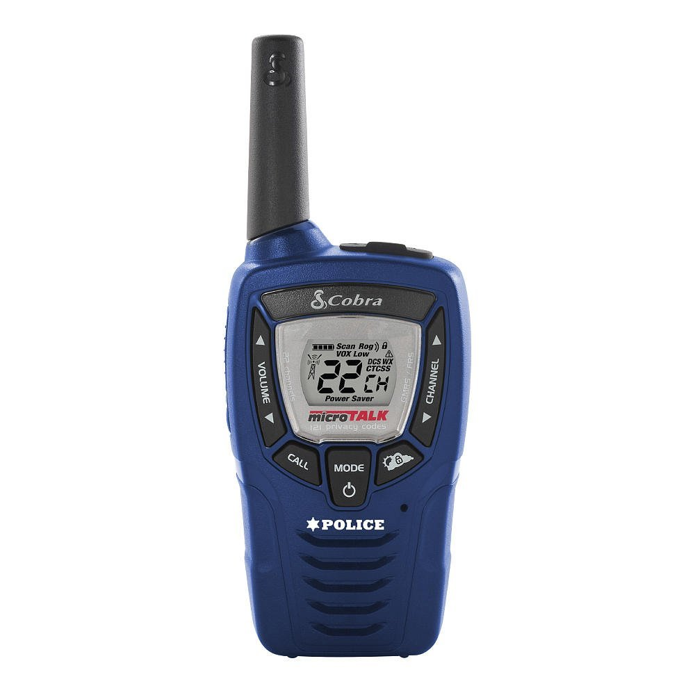 Cobra 25 Mile FRS Radio Police Version with Weather Alert