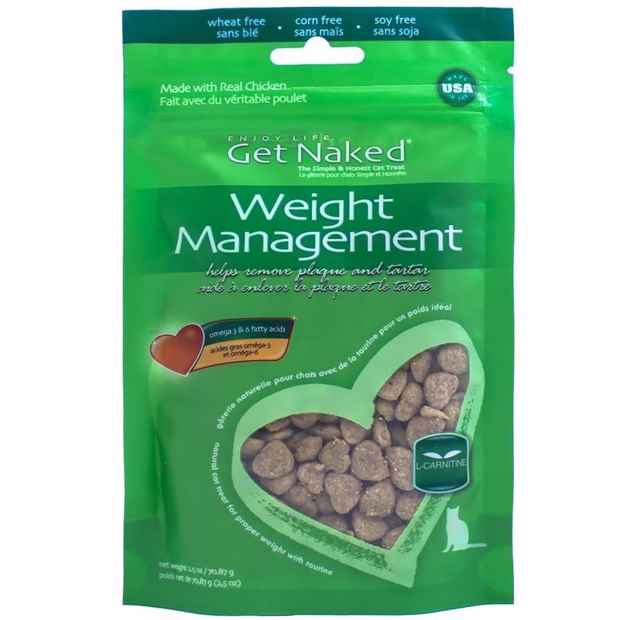 Get Naked Weight Management Treats for Cats, 2.5 oz