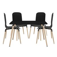 Modway Stack Wood 5 Piece Dining Set