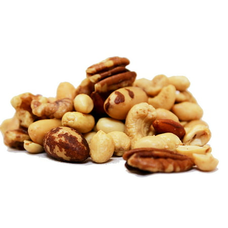 Deluxe Roasted Unsalted Mixed Nuts (No Peanuts) by Its Delish, 5 lbs