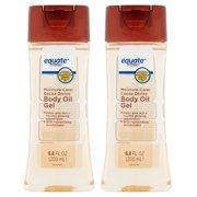 (2 Pack) Equate Moisture Care Cocoa Divine Body Oil Gel, 6.8 Oz