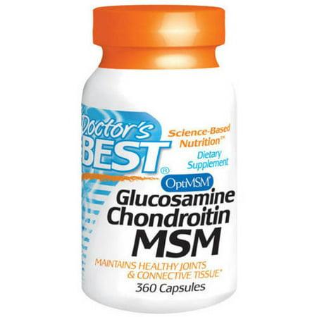 Doctor's Best Glucosamine Chondroitin MSM, 360 CT