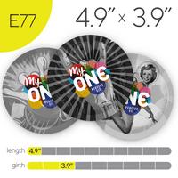 MyONE® Condoms Size E77, 12-Count