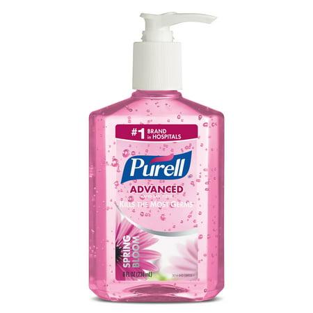 Purell Instant Hand Sanitizer Spring (PURELL® Hand Sanitizer Spring Bloom Gel, 8 fl oz Table Top Pump)