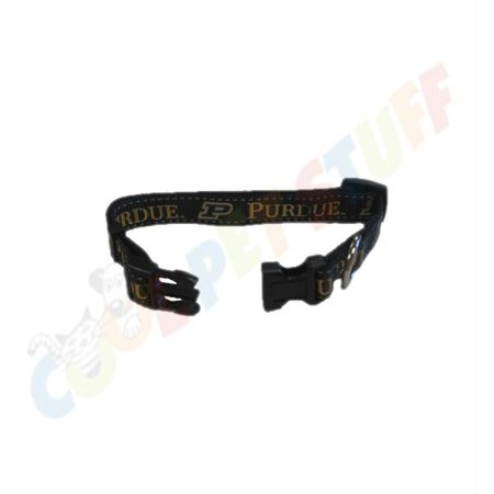 Purdue Boilermakers Pet Reflective Nylon Collar - Medium - image 2 of 2