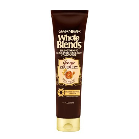 Garnier Whole Blends Ginger Recovery Leave-In or Rinse-Out Treatment, 5.1 fl. oz.
