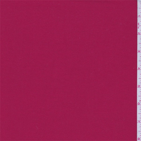 - Rio Red Poly Blend Suiting, Fabric By the Yard