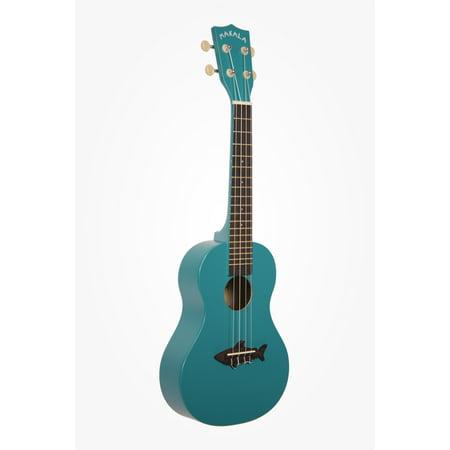 kala makala shark concert ukulele mako blue mk cs blu. Black Bedroom Furniture Sets. Home Design Ideas