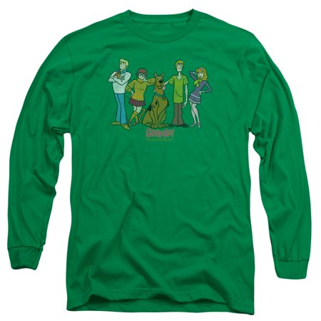 Scooby Doo And The Gang (Scooby Doo Scooby Gang Mens Long Sleeve)