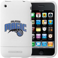 Orlando Magic White Team Name & Logo iPhone 3G Hard Snap-On Case