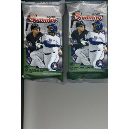 2019 Bowman Baseball Jumbo 2 Packs 32 Cardspack