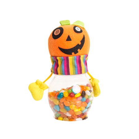 Mosunx Happy Halloween Party Bottle Case Candy Jar Household Children Can Bin Decor Box - Simple Easy Halloween Party Food