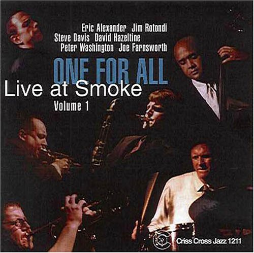 One for All - Live at Smoke [CD]