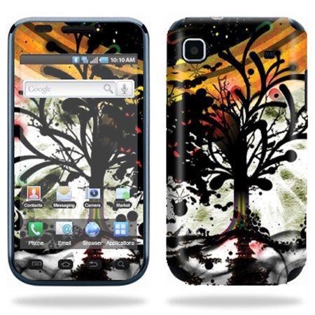 Skin Decal Wrap cover for Samsung Vibrant T959 Leaf Splatter](Space Lollipops)