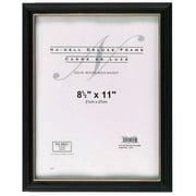NUDELL 17181 Deluxe Doc. Frame 8.5x11 Black,PK18