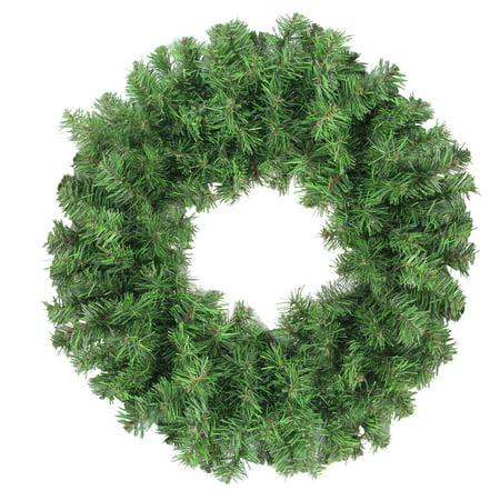 2 Tone Wreath (Colorado Spruce 2-Tone Artificial X-mas Wreath )