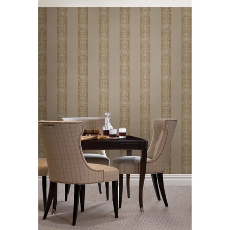 Beacon House Nash Stripe Embellished Stripe Wallpaper