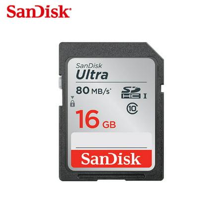 High Speed SD Card Class 10 16GB 32GB 64GB 128GB TF Card Memory Card Flash for Camera 16G ()