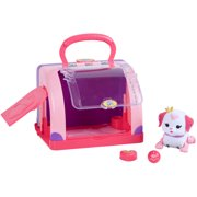 Little Live Pets Cutie Pup Playcase with Pup and Accessories, Ruby