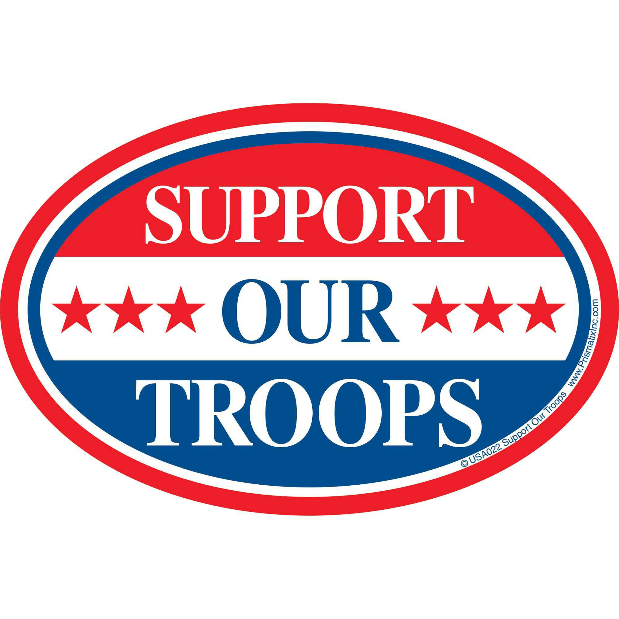 Prismatix Support Our Troops Magnet