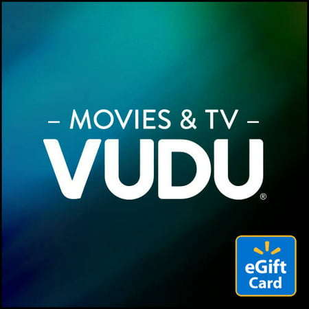 VUDU Movies & TV eGift Card