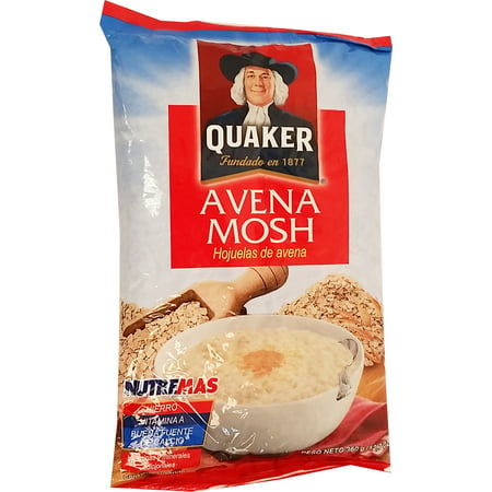 Quaker Whole Oats 12.7 oz - Avena Entera (Pack of 5)