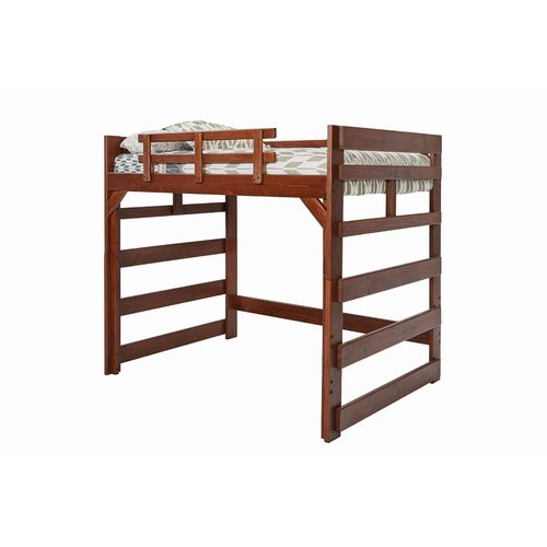 Harriet Bee Doretha Loft Bed with Ladder