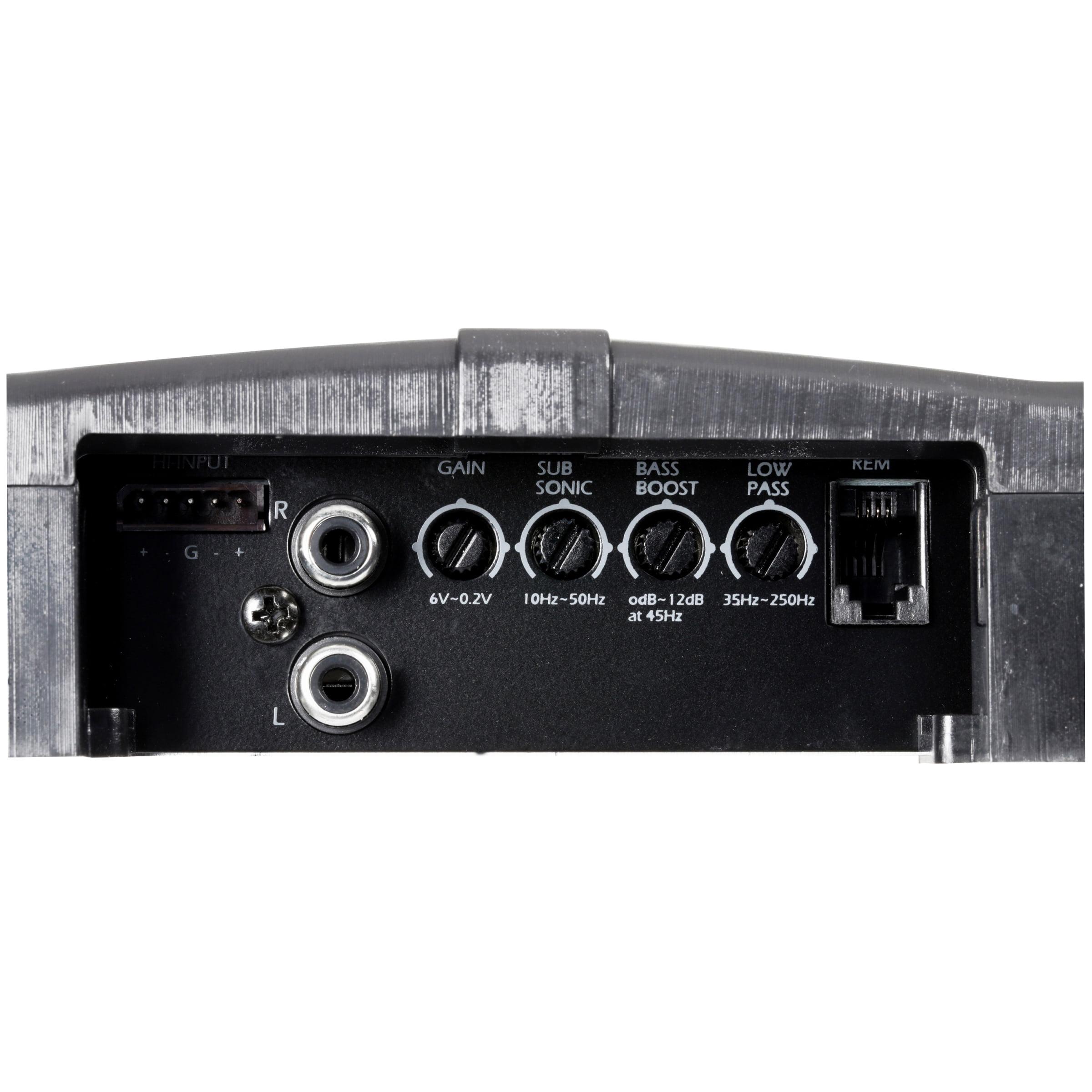 Power Acoustik 2 Ohm 2500 Watt Max Subwoofer Amplifier 5 Pc Box Rzr Amp Gauge Wiring Diagram