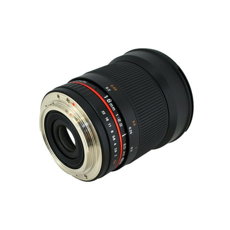 ROKINON 16mm f2.0 Ultra-Wide-Angle Lens