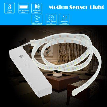 Flexible LED Strip Lights Motion Sensor Night Light for  Cabinet/Closet/Stairs, 1 Pack