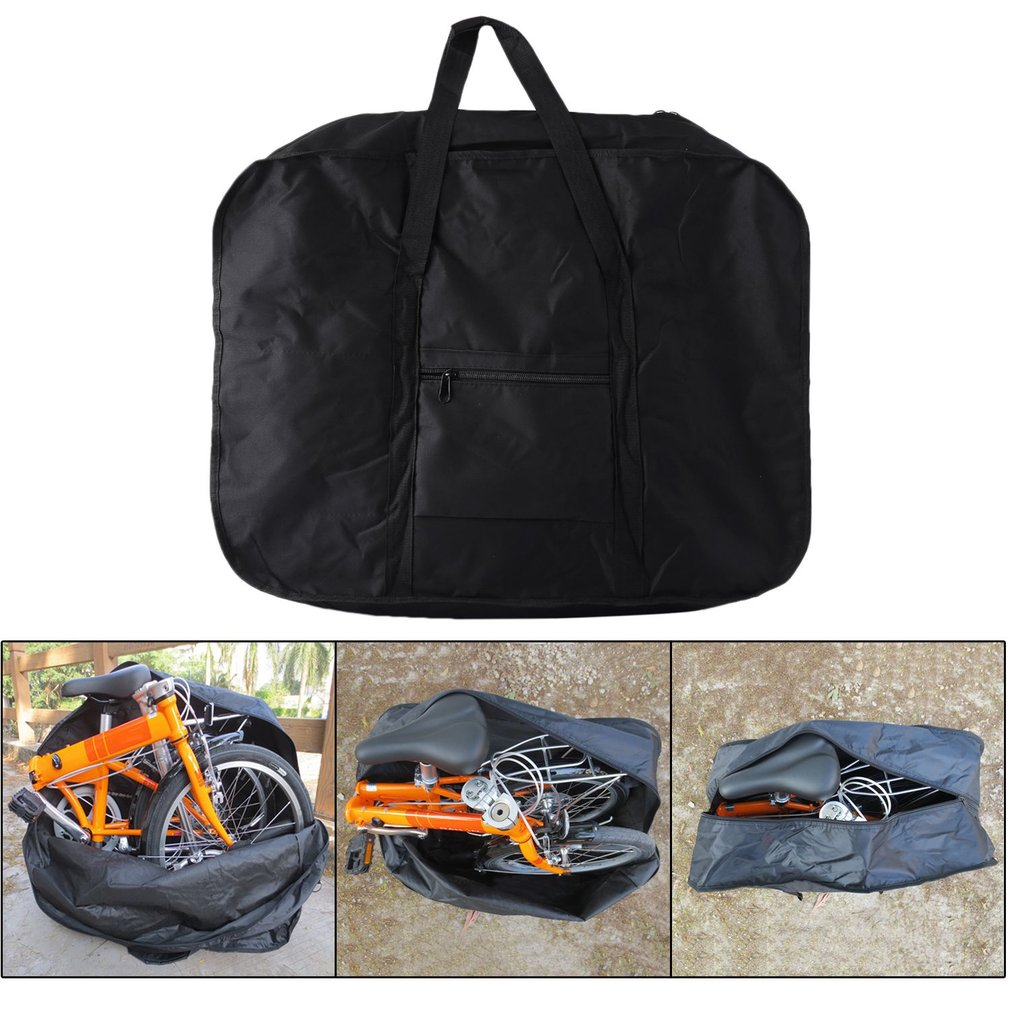 20Inch Folding Portable Bicycle Bike Carry Bag Carrier Transport Luggage Pouch by