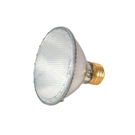 - Satco Lighting S2234 Single 39 Watt Dimmable PAR30 Shaped Medium (E26) Base Halogen Bulb
