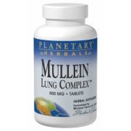 Planetary Formulas Planetary Herbals  Mullein Lung Complex, 15 ea