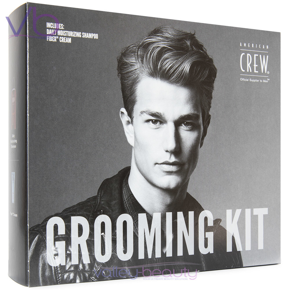 American Crew Grooming Kit Fathers Day Essential Duo