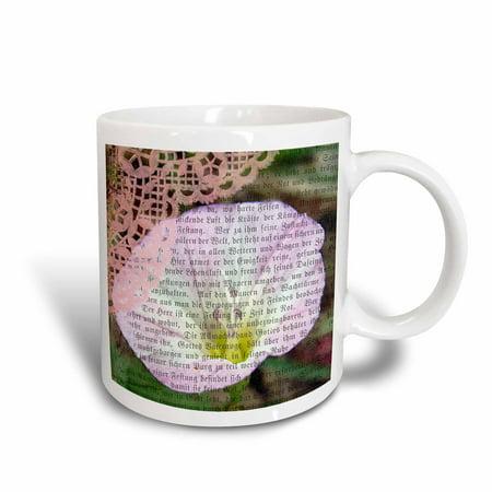 3dRose Pretty Bind Weed Mixed Media by Angelandspot, Ceramic Mug, (Ceramic Media)