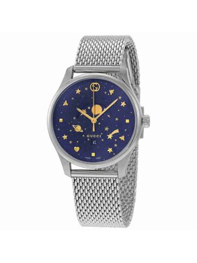 d488f739be3 Product Image Gucci G-Timeless Blue Motifs Dial Mens Watch YA126328