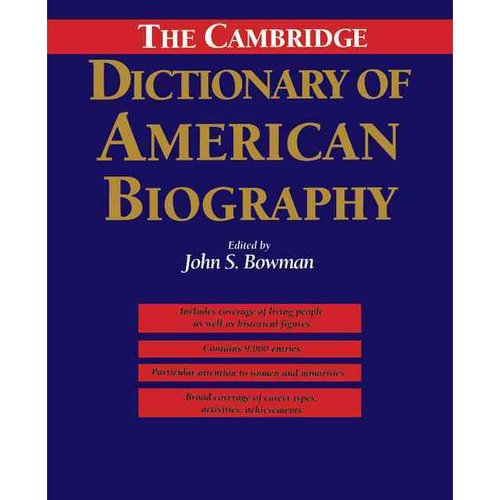 The Cambridge Dictionary of American Biography