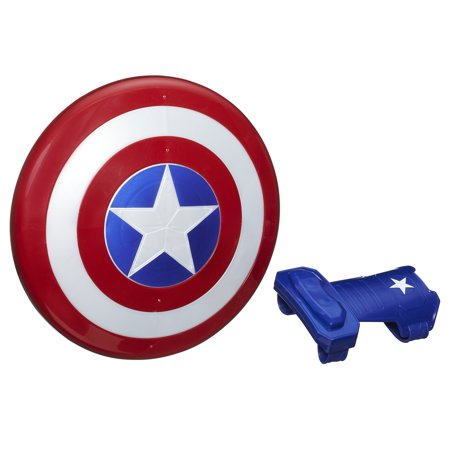 Marvel Captain America Magnetic Shield & Gauntlet - Captain America Shiels