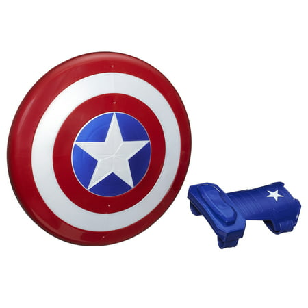 Marvel Captain America Magnetic Shield & Gauntlet](Dress Up Captain America)