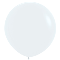"""Ideal 18"""" Standard White Latex Balloons (72 ct)"""