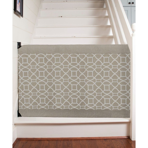 The Stair Barrier Wall to Banister Signature Safety Gate by