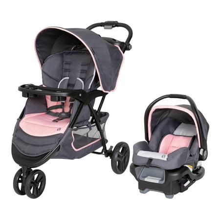 Baby Trend Flamingo EZ Ride Jogger Travel System, Flamingo Pink
