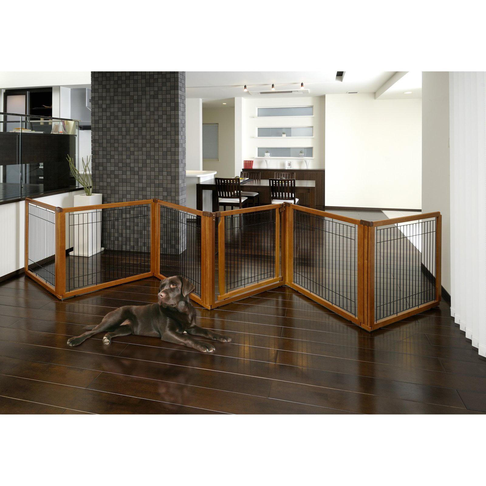 Richell USA Convertible Elite 6 Panel Pet Gate