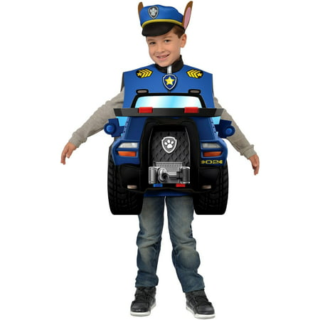 Paw Patrol Nick Jr Chase Child Toddler Costume - Nick Jr Happy Halloween