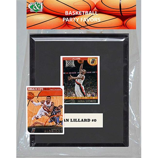 Candlcollectables 67LBTRAILBLAZERS NBA Portland Trail Blazers Party Favor With 6 x 7 Mat and Frame