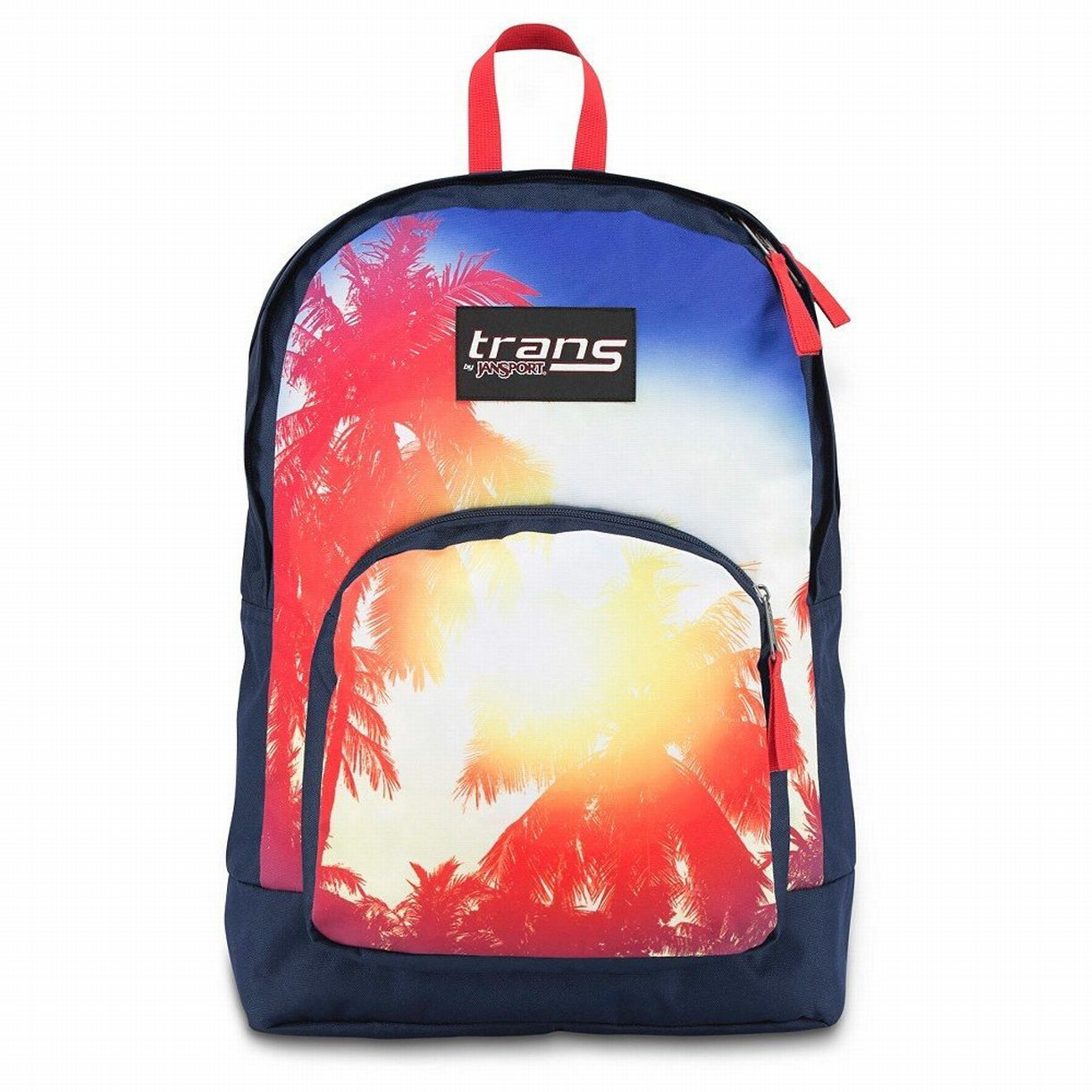 Overt Backpack - Palm Trees With 15 Laptop Sleeve School Travel Pack