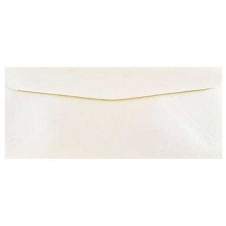 Stardream Opal Square - JAM Paper #10 Business Envelopes, 4 1/8 x 9 1/2, Opal Stardream Metallic, 50/pack