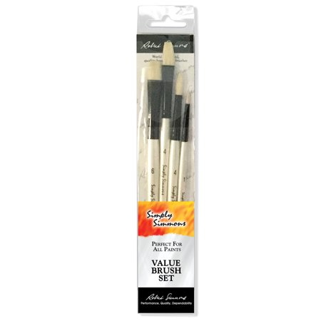 Robert Simmons Simply Simmons Brush Set, Bristle - Bristle Brush Set