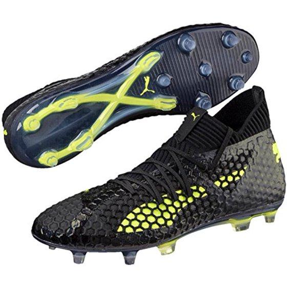 c4ebb166e PUMA Men's Future 18.1 Netfit FG/AG Soccer Cleats - Walmart.com